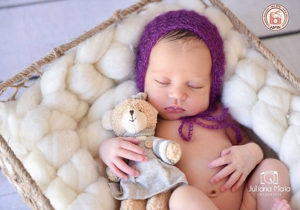 Imagens de bebês recém-nascidos repletas de poesia será tema de exposição
