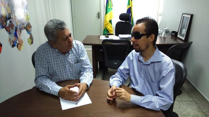 Deputado Gilson Andrade apoia Projeto Aracaju Acessível