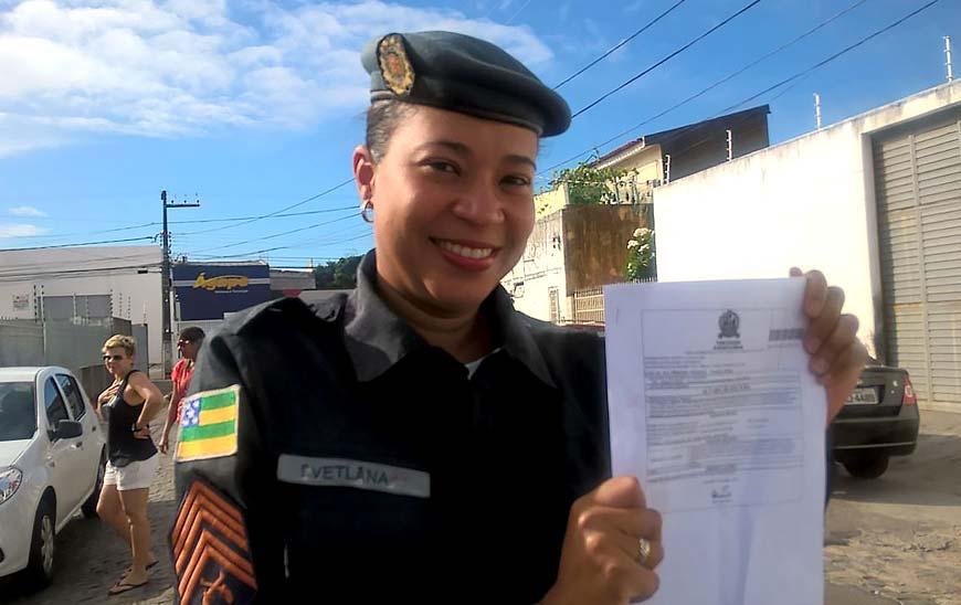 Justiça manda soltar a sargento Svetlana Barbosa