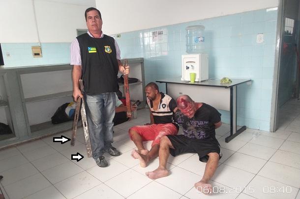 Dois presos escapam da morte em rebelião da 10ª Delegacia de Aracaju -VEJA AS FOTOS E VIDEOS