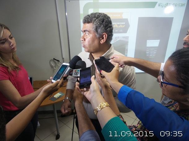COLETIVA: SMTT de Aracaju apresenta balanço da fiscalização eletrônica na cidade