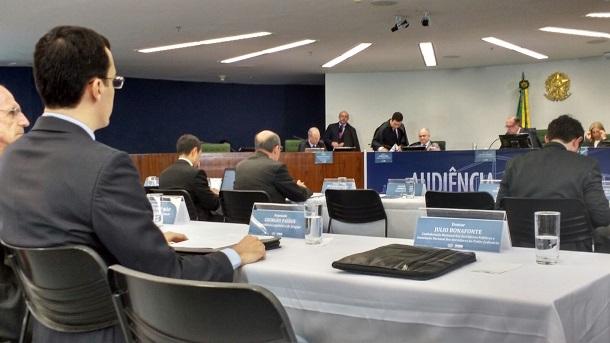 Deputado sergipano Georgeo Passos participa de audiência pública no STF sobre depósitos judiciais