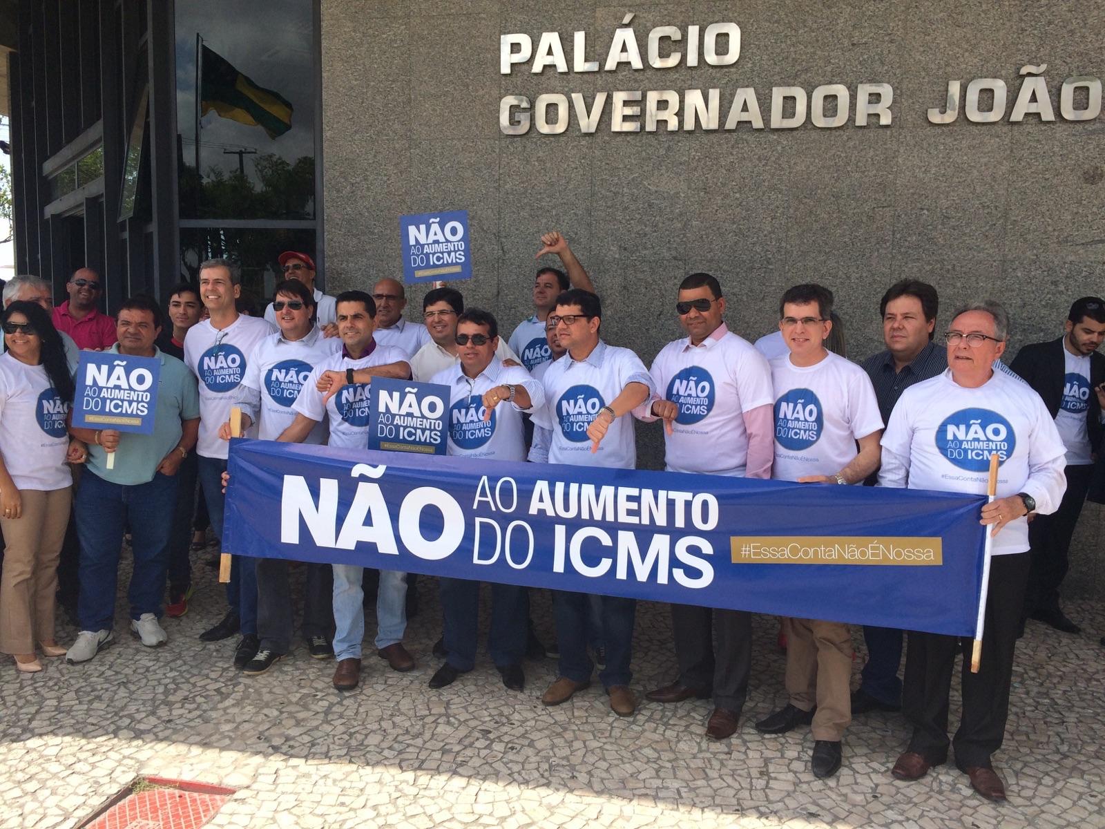 Empresários vão a assembléia  protestar contra aumento de ICMS