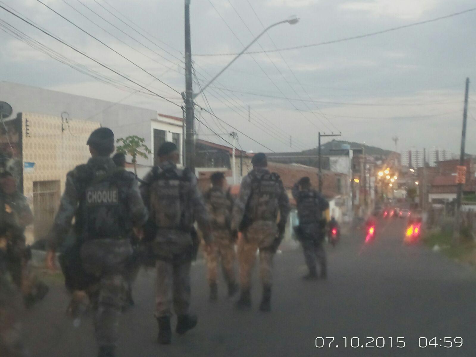 Polícia executa operação na antiga clínica Santa Maria