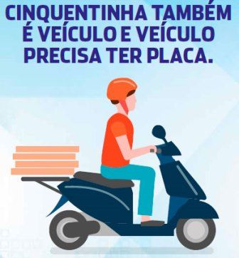 Detran prorroga prazo para emplacamento de ciclomotores