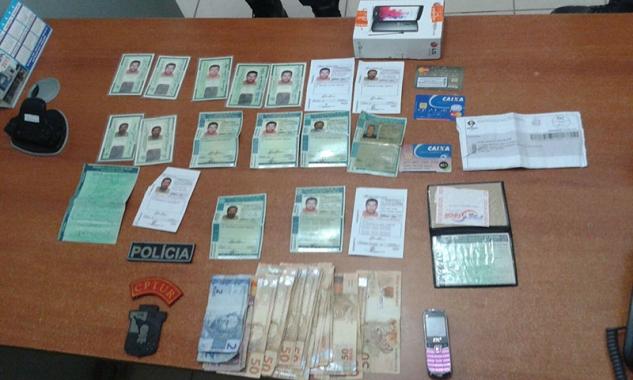 Homem é preso em flagrante realizando compras com documentos falsos em supermercado de