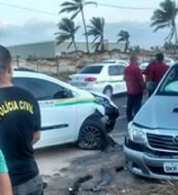 Delegado de Sergipe é acusado de provocar acidente na Praia de Atalaia