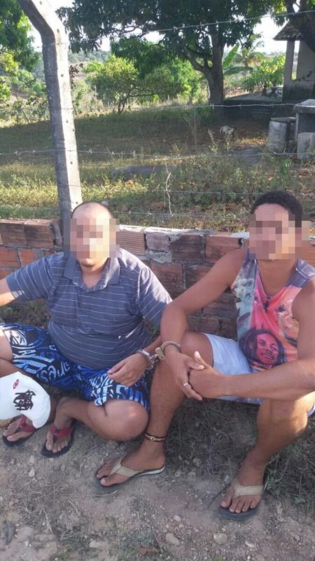 Presa dupla suspeita de roubo a chácaras em São Cristóvão