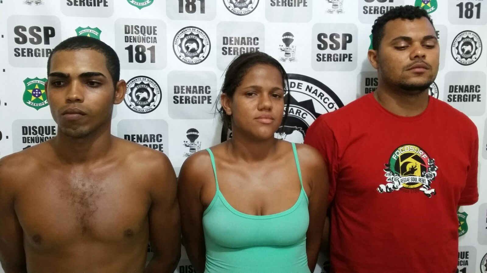 Polícia prende irmãos acusados de tráfico de drogas