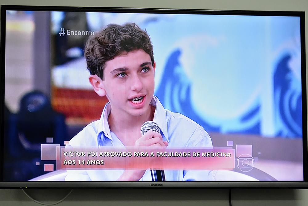 Estudante aprovado duas vezes em Medicina é destaque em programa da Globo