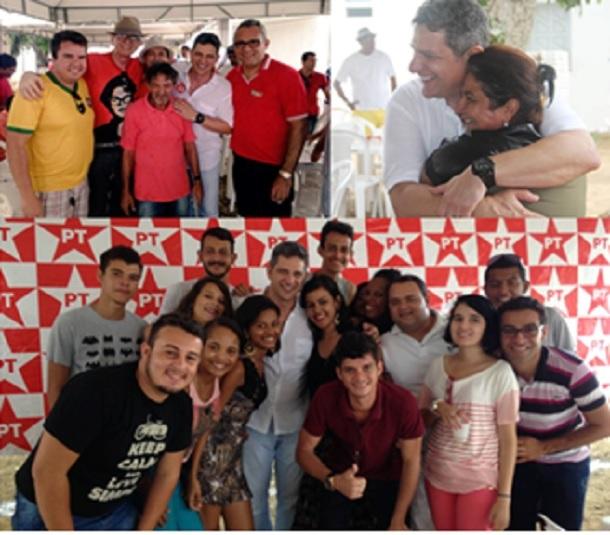 PT de Sergipe realiza confraternização com militantes