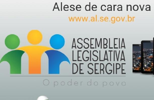 Assembleia Legislativa de Sergipe lança novo Portal