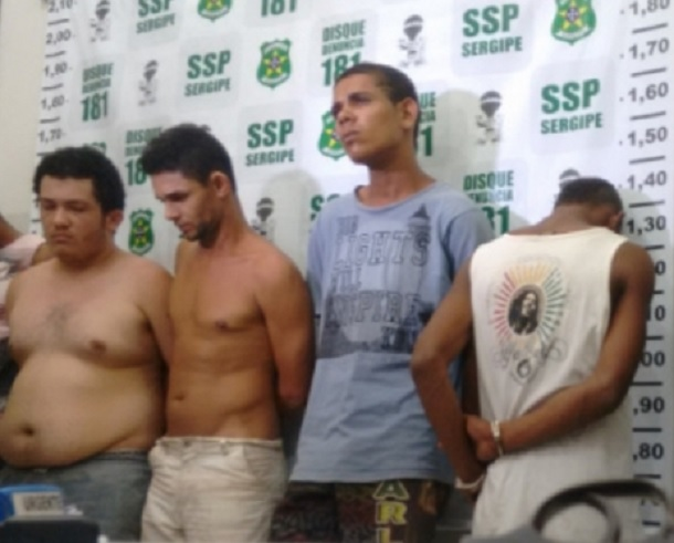 Bandidos que invadiram casa do primo do governador são presos pela civil e militar