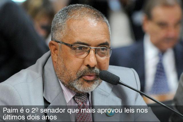 Senador Paulo Paim preside audiência pública em Sergipe nesta quinta-feira