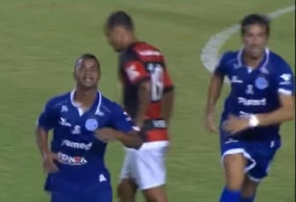 Confiança bate no Flamengo por  1 x 0 jogando com menos um pela Copa do Brasil 2016
