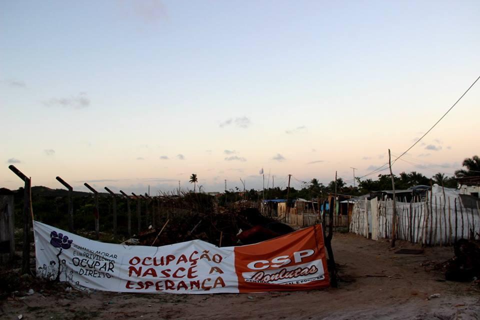 Moradores da Ponta da Asa vão resistir a reintegração de posse