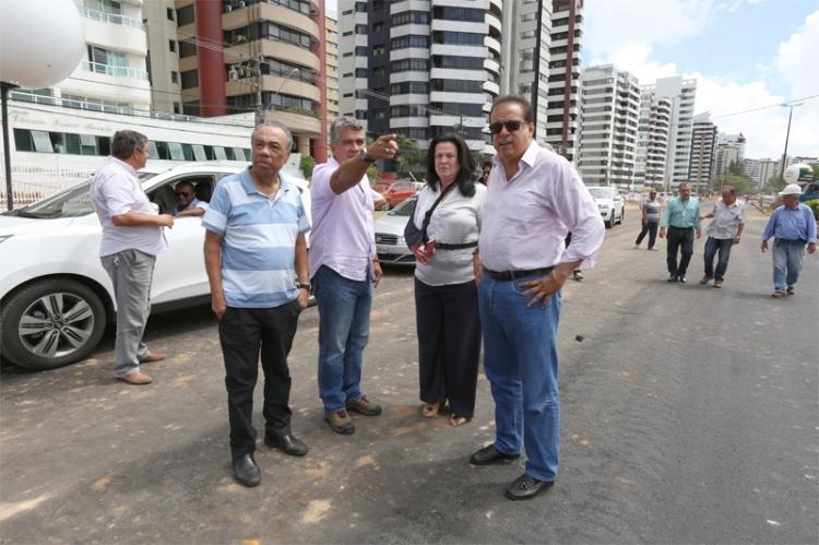 Prefeito João Alves Filhos destaca que em pouco tempo obras da Beira Mar estará concluída