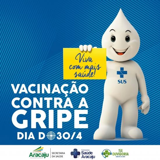 Prefeitura de Aracaju abrirá campanha contra a gripe no Same, neste sábado