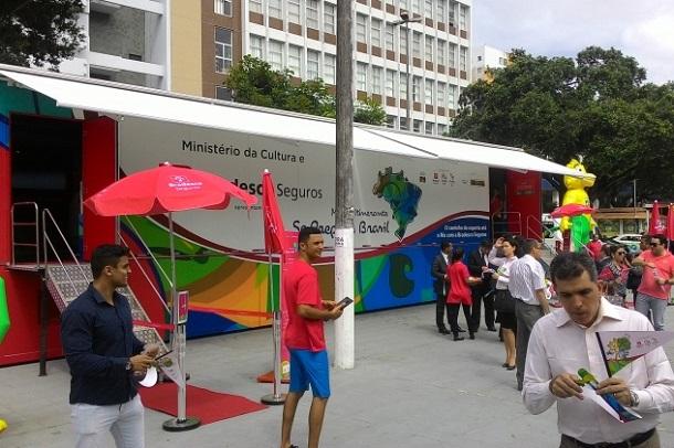 Museu Itinerante dos Jogos Olímpicos chega a Aracaju