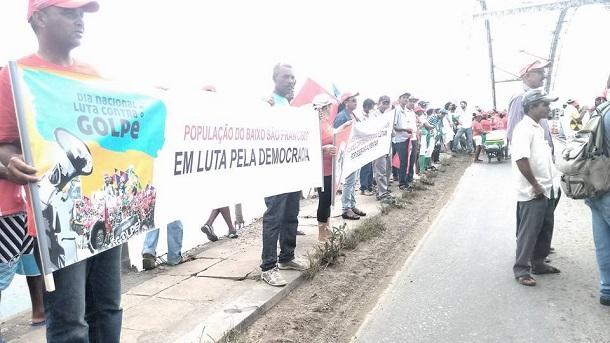 Deputado João Daniel parabeniza paralisações contra o golpe realizadas neste dia 10