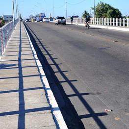 Ponte sobre o Rio do Sal será interditada na noite desta quarta-feira