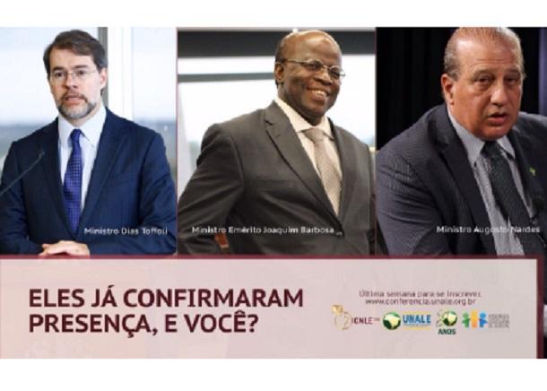 20ª Conferência Nacional dos Legisladores e Legislativos Estaduais terá presenças de ministros