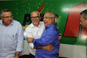 PMDB apoia PC do B -EDIVALDO NOGUEIRA-JACKSON BARRETO