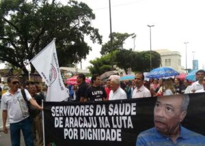SINTASA-MANIFESTAÇAO-SAUDE-PROTESTO-GREVE -TRABALHADORES