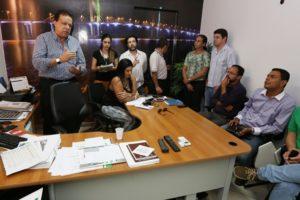 carlos batalha - batalaha-prefeitura de Aracaju-entrevista - reuniao