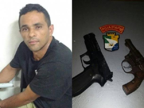 """""""Adrianinho"""" é preso  pela PM de Sergipe no São Carlos"""