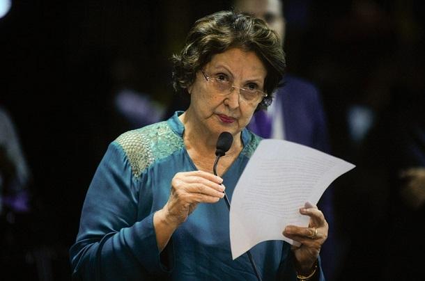 Senadora Maria do Carmo lamenta matéria na imprensa  sobre seu nome citado na Lava Jato
