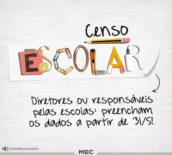 Educação e Inep iniciam o Censo Escolar da Educação Básica 2017