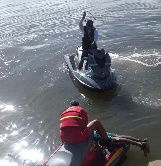 Corpo do pescador desaparecido é encontrado pelos bombeiros de Sergipe