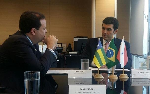 Líder André se encontra com ministro da Integração Nacional para tratar de projetos  para Sergipe