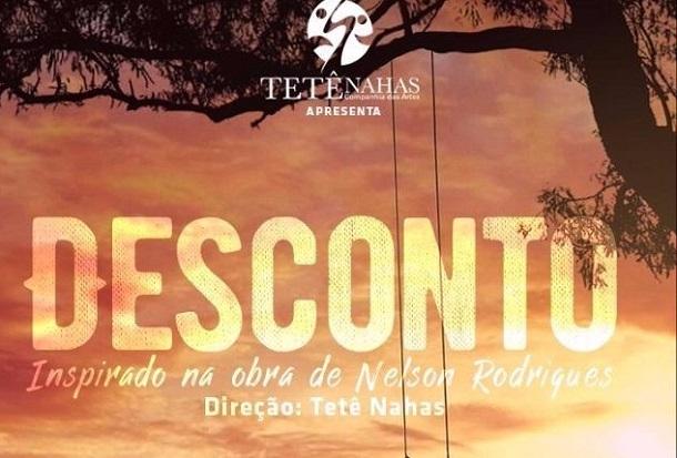 """Companhia das Artes Tetê Nahas apresenta novo musical """"Desconto"""""""
