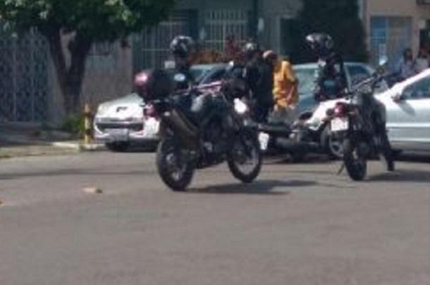 Policial do Getam é atropelado por carro que tentava realizar a famosa roubadinha