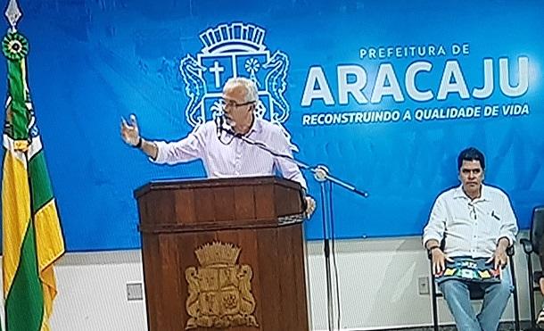 Prefeito Edvaldo Nogueira explica o porquê do cancelamento do Forró Caju 2017
