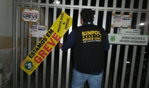Policiais civis ameaçam paralisar atividades na próxima quinta-feira