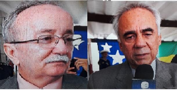 Deputados Luciano Bispo e Venâncio Fonseca são homenageados pela Marinha