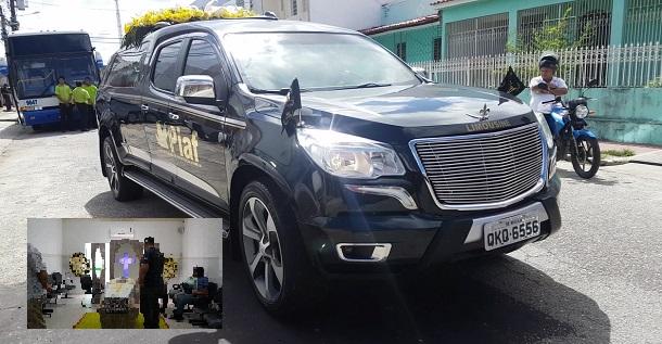 """O corpo do policial """"Paulo Sergio"""" assassinado covardemente é sepultado"""
